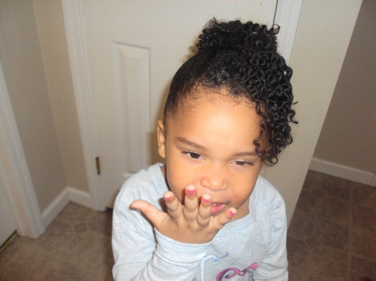 The Best Natural Hairstyles For Kids Thirstyroots Com Black Pictures