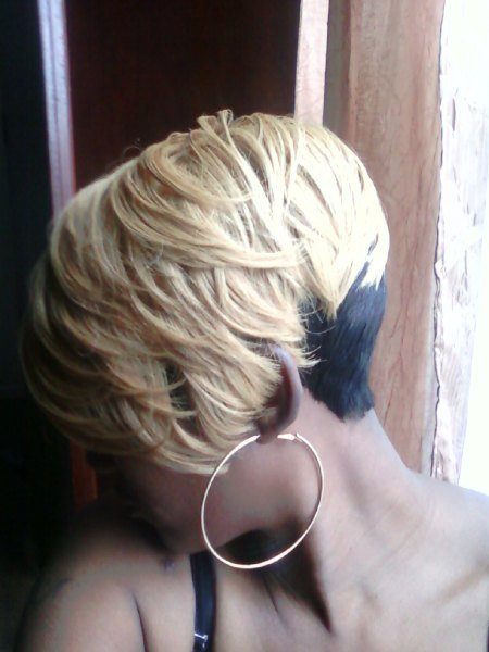 The Best Shondra S Quick Weave Hairstyles Blonde Layeres Pictures