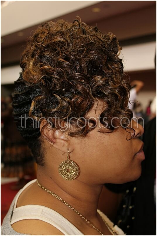 The Best Black Hair Finger Waves Hairstyles Pictures