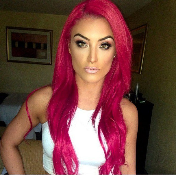 The Best Total Diva Star Eva Marie S Natural Hair — See Her Before The Bright Red Do Photos Pictures