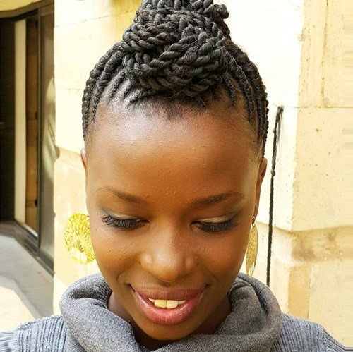 The Best Flat Twists Hairstyles African American Hairstyles Trend Pictures
