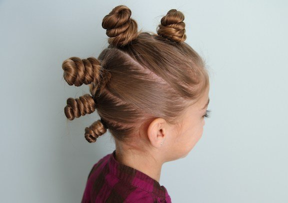 The Best The Bun Hawk Crazy Hair Day Hairstyles Cute Girls Pictures