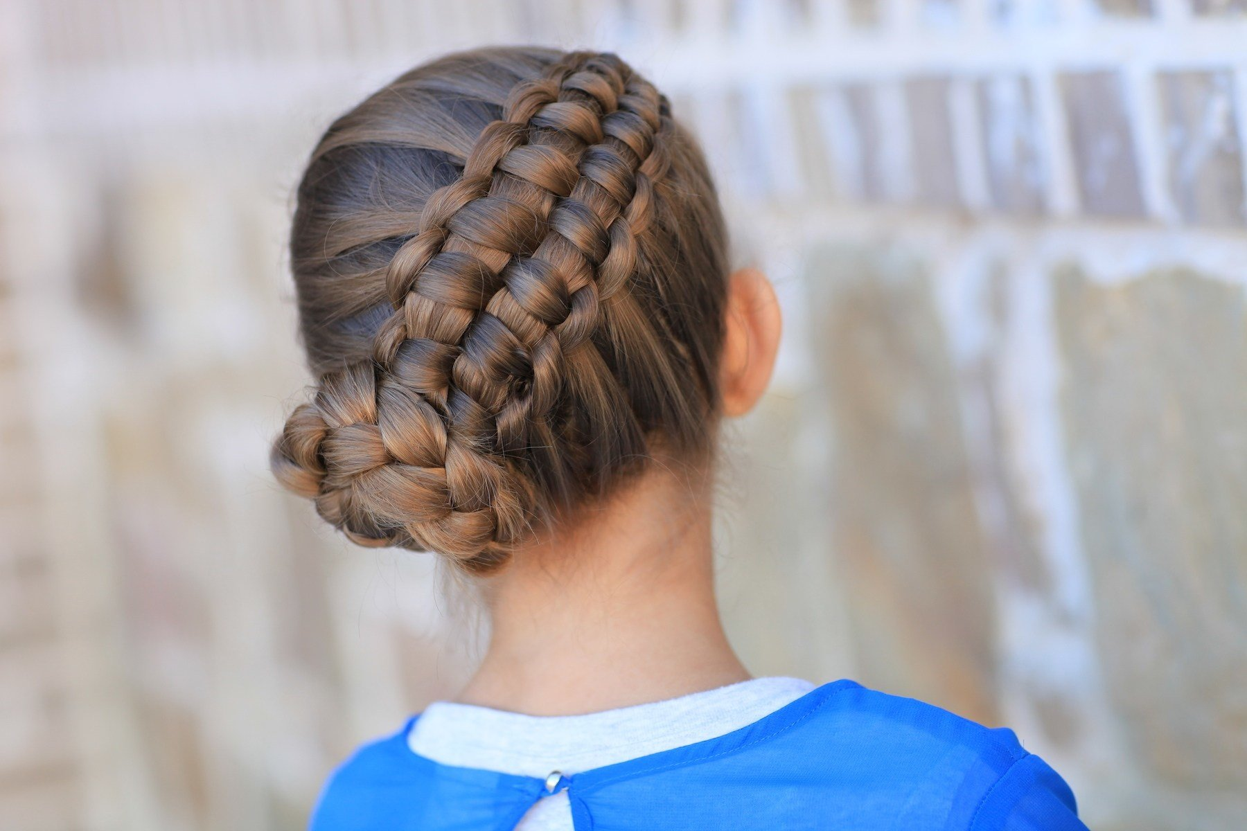 The Best How To Create A Zipper Braid Updo Hairstyles Cute Pictures