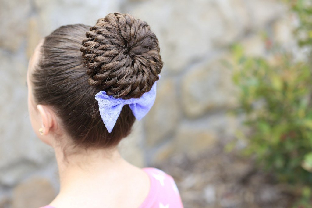 The Best Rope Twist Pinwheel Bun Prom Hairstyles Cute Girls Pictures