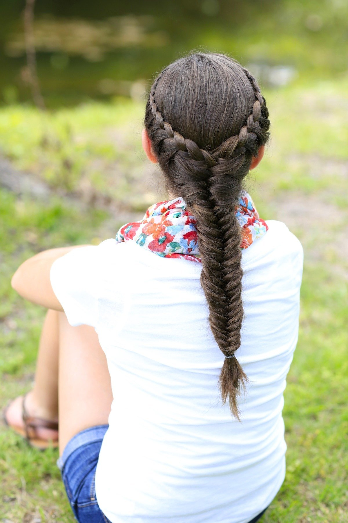 The Best How To Create A Laced Fishtail Braid Cute Girls Hairstyles Pictures