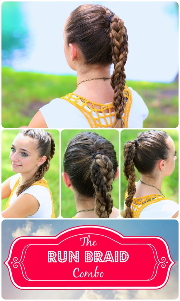 The Best The Run Braid Combo Hairstyles For Sports Cute Girls Hairstyles Pictures