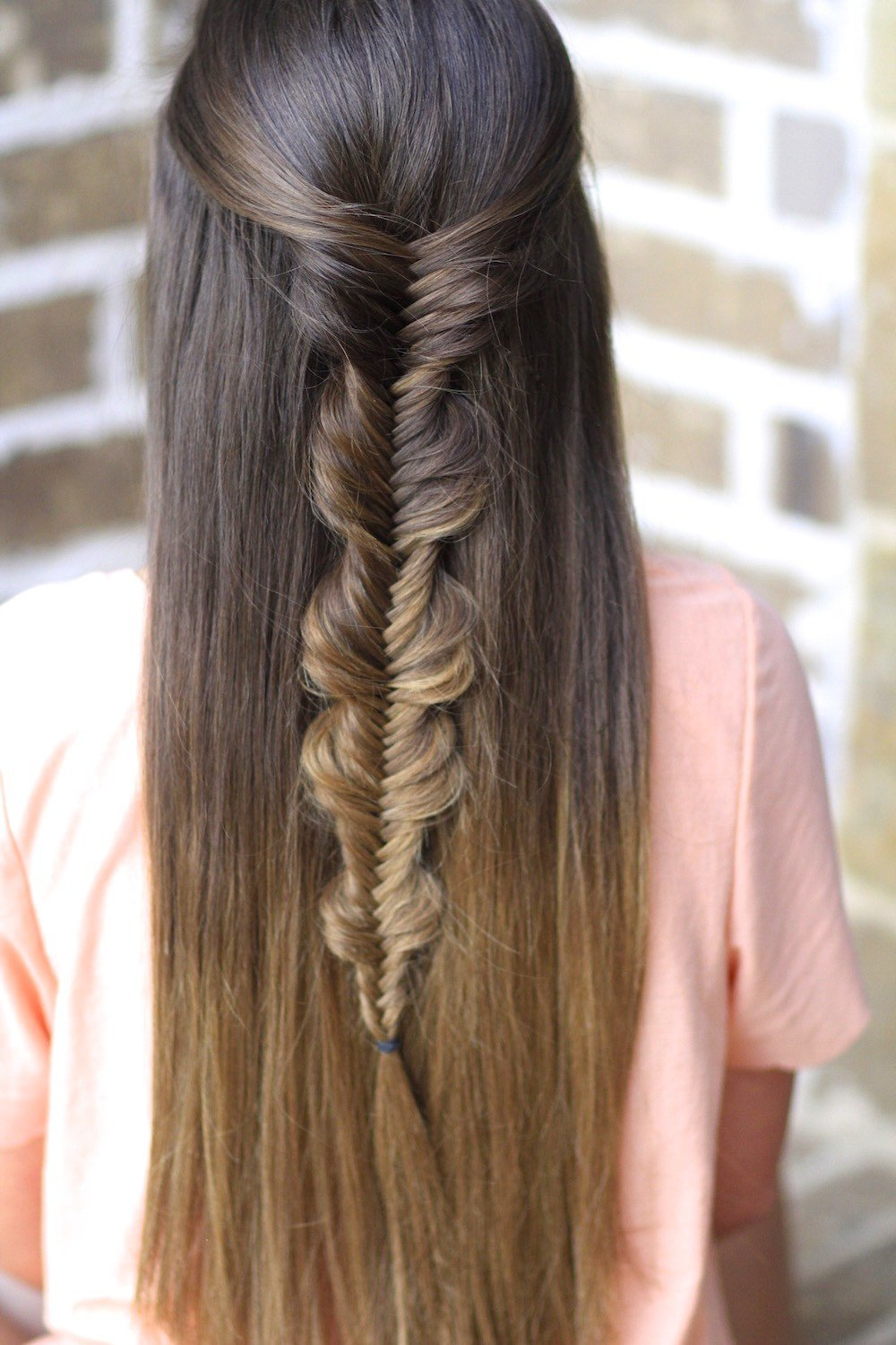 The Best The No Band Bubble Fishtail Braid Cute Girls Hairstyles Pictures