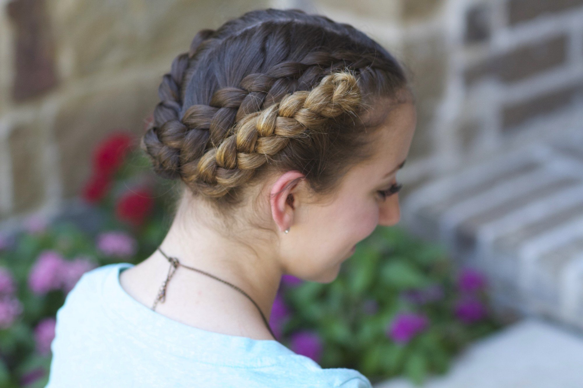 The Best Easy Fold Up Braids Back To School Hairstyles Cute Pictures