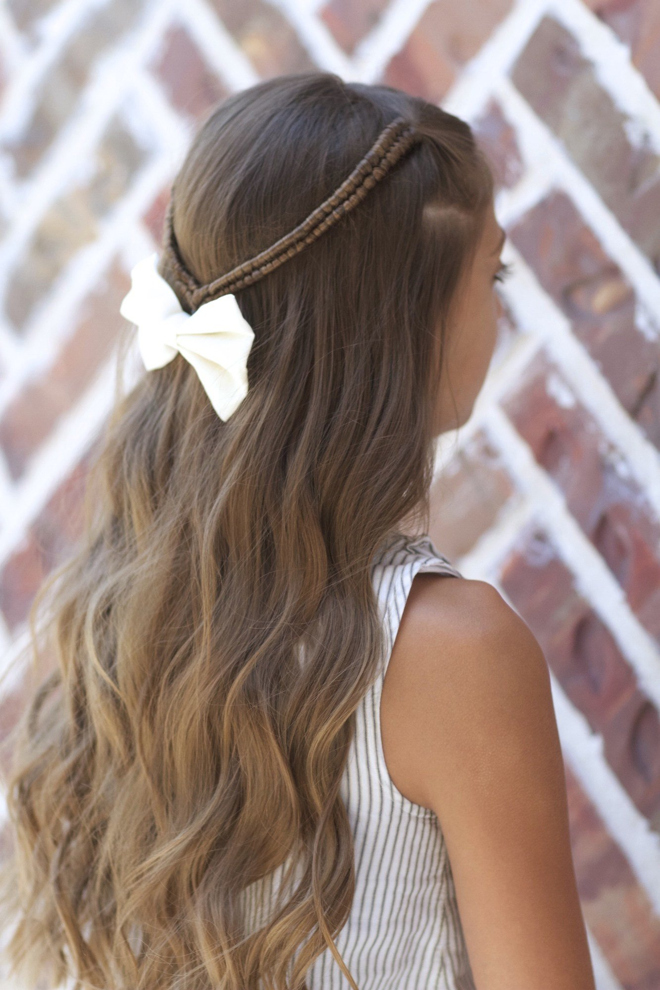 The Best Infinity Braid Tieback Back To School Hairstyles Cute Pictures