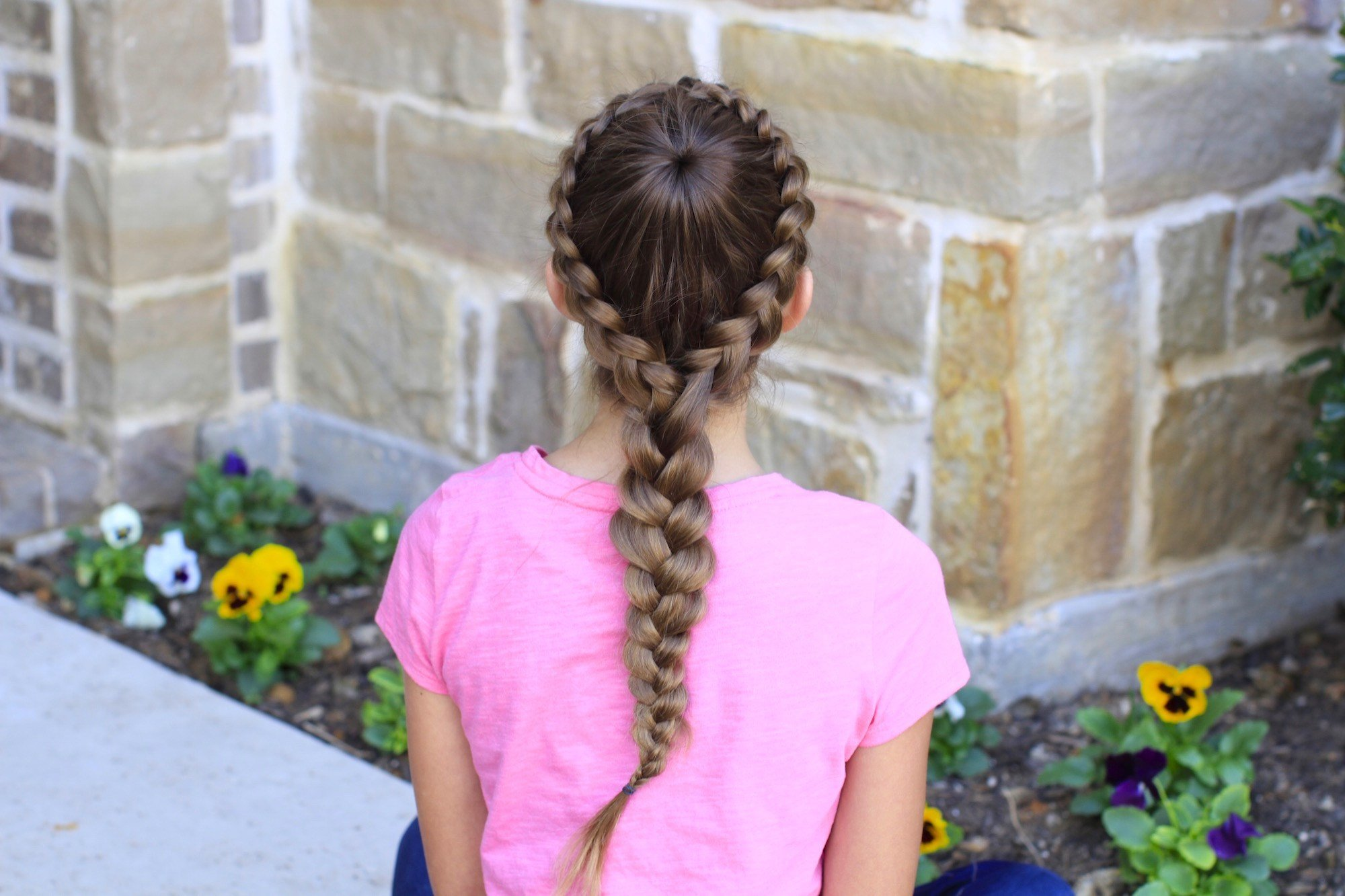 The Best How To Create A Dutch Starburst Braid Cute Girls Hairstyles Pictures
