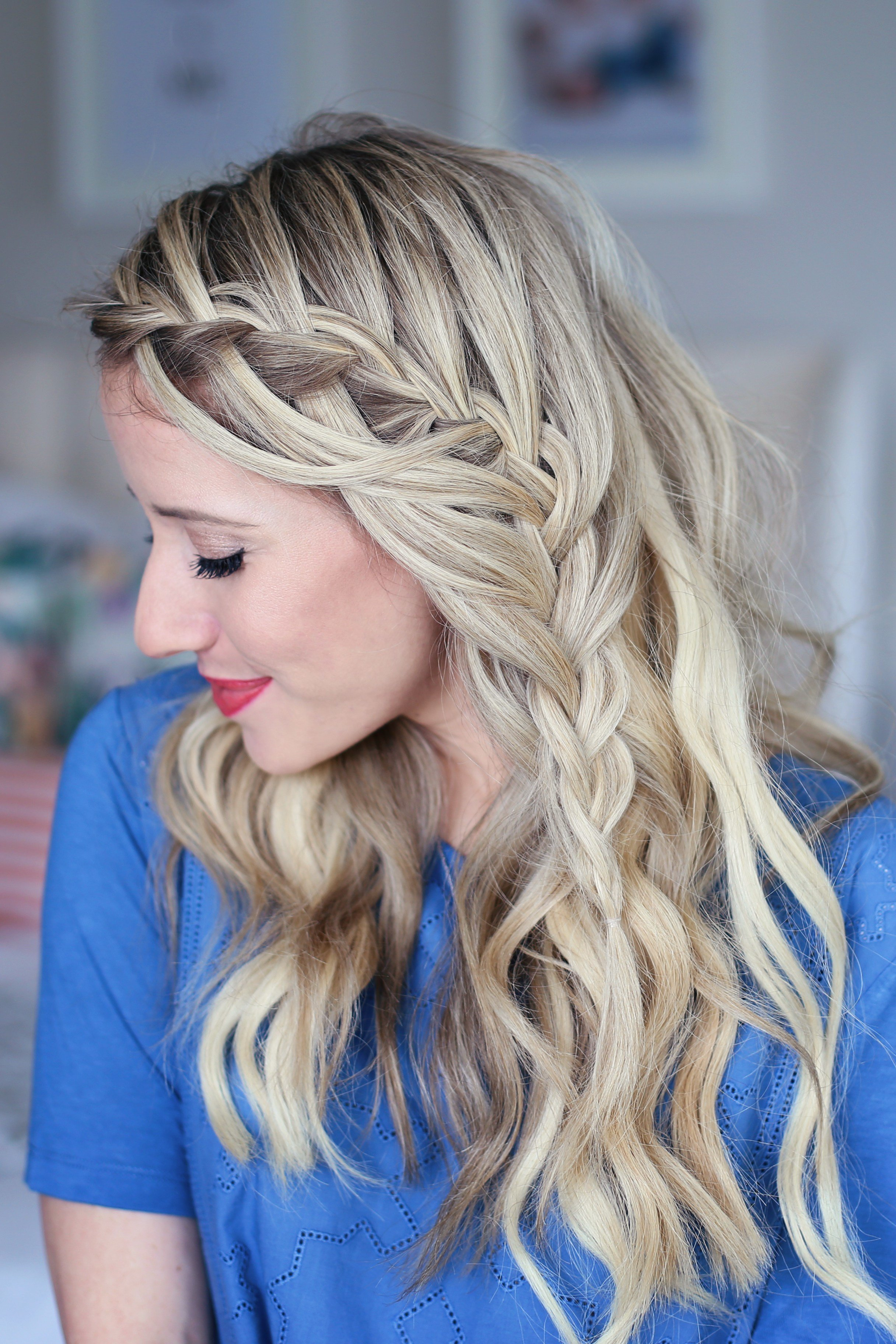 The Best 3 In 1 Cascading Waterfall Build Able Hairstyle Cute Pictures