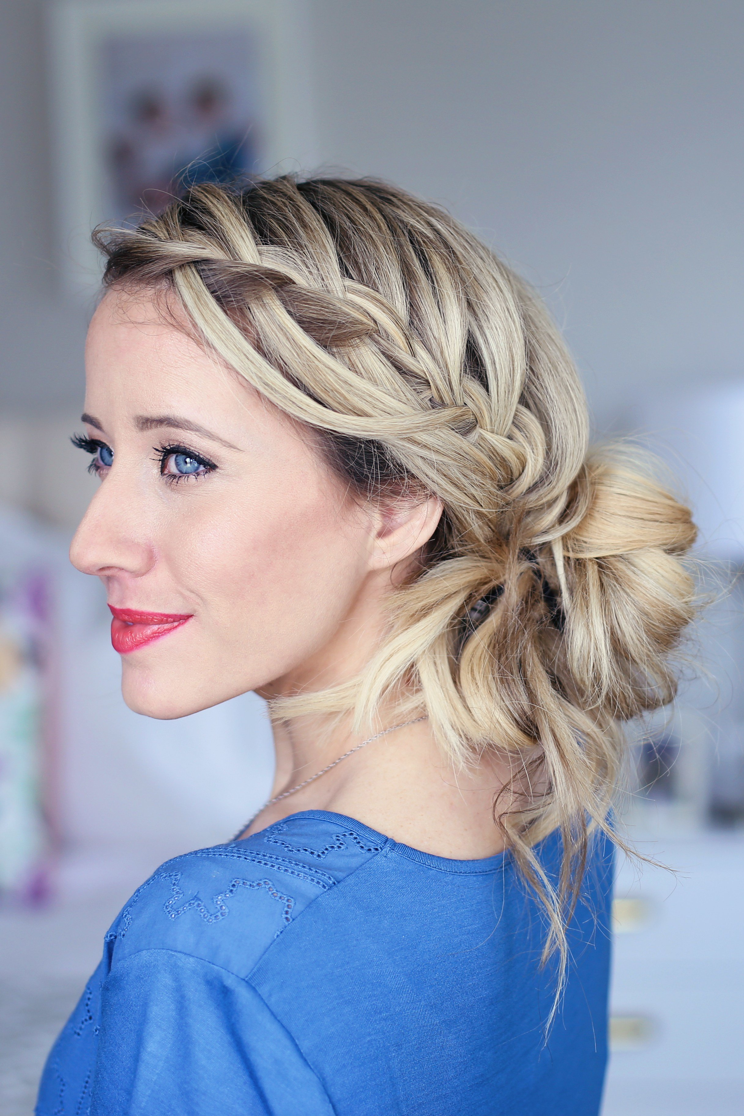 The Best 15 Best Waterfall Braid Hairstyles With Pictures Styles Pictures