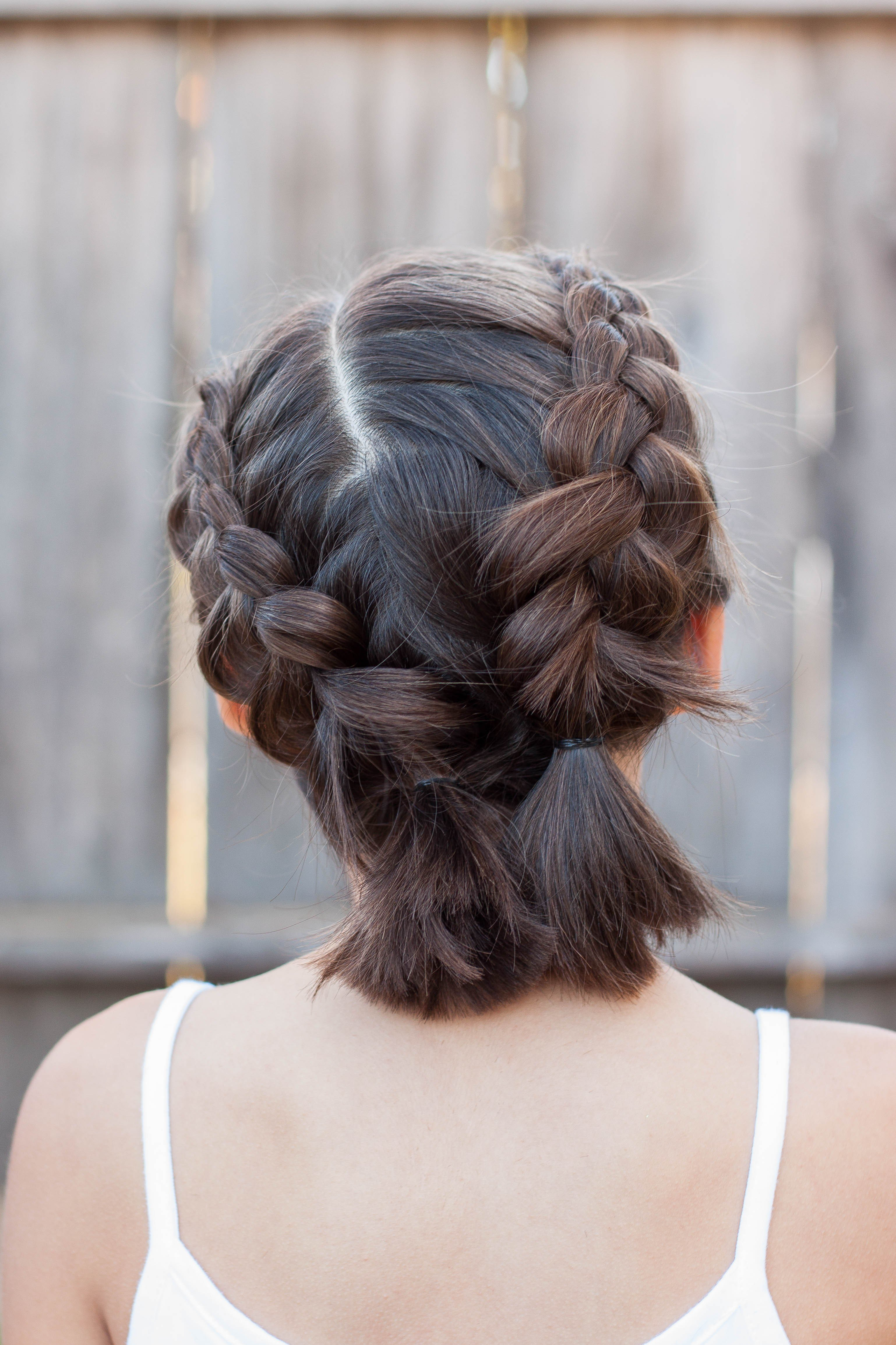 The Best 5 Braids For Short Hair Cute Girls Hairstyles Pictures