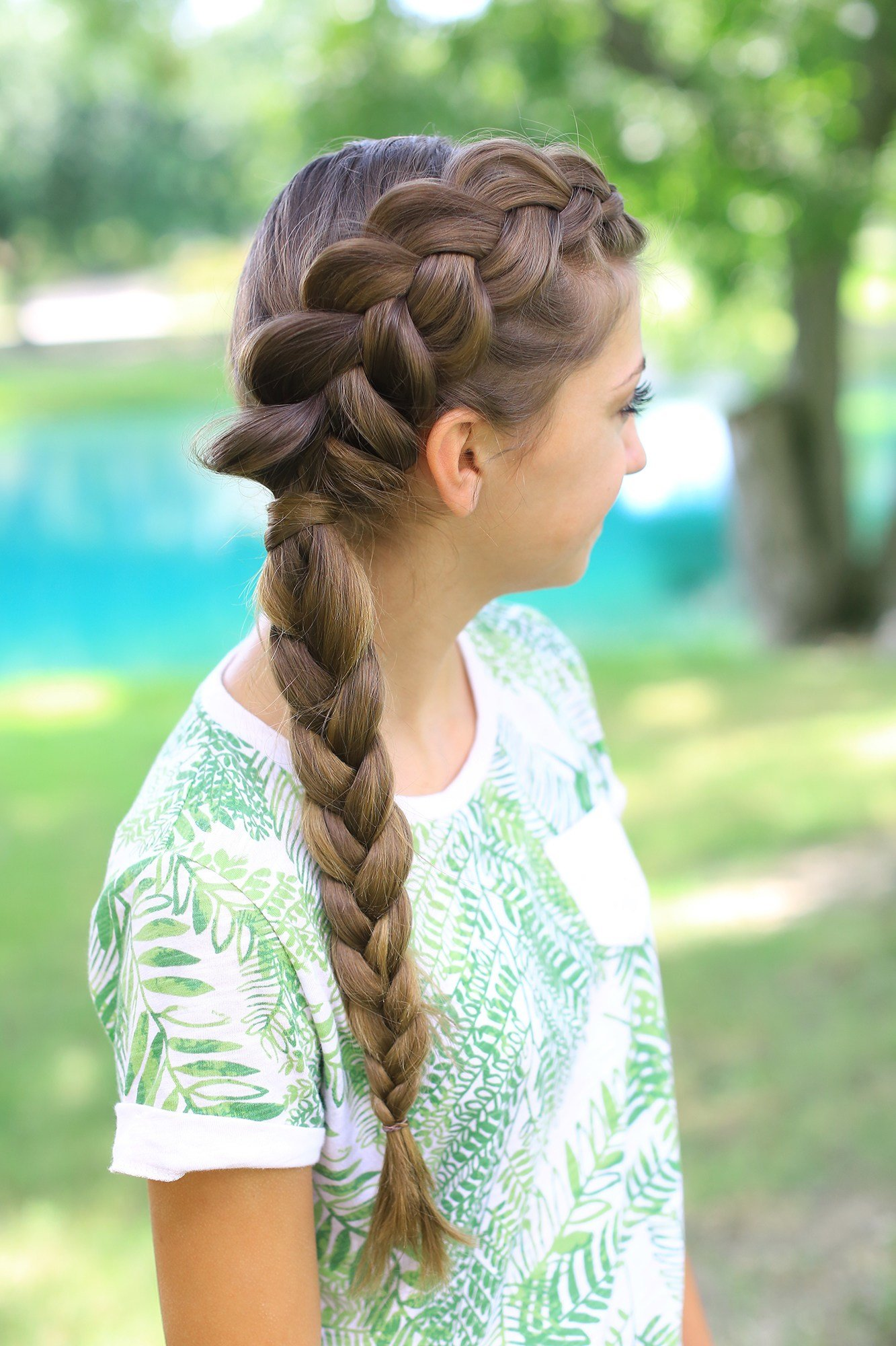 The Best Side Dutch Braid Combo Cute Girls Hairstyles Pictures