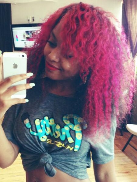The Best Pictures *Mg Girlz Hairstyles Bahja Rodriguez *Mg Girlz Pink Hair Color Pictures