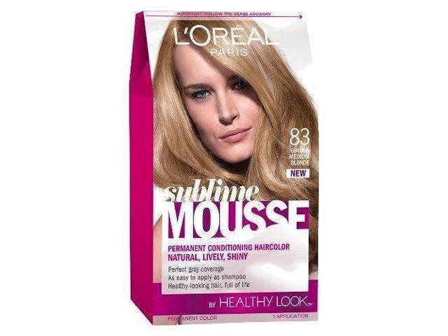 The Best L Oreal Healthy Look Sublime Mousse Hair Color 83 Golden Pictures
