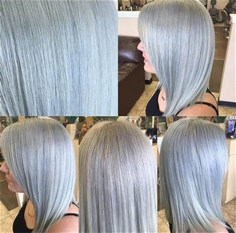 The Best Silver And Smoke With Wella Formula Hair Color Modern Pictures