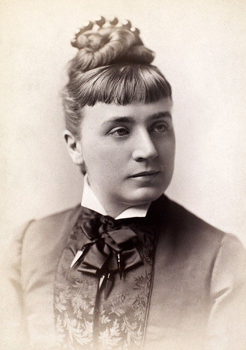 The Best Womens Hairstyle 1880S By Granger Pictures