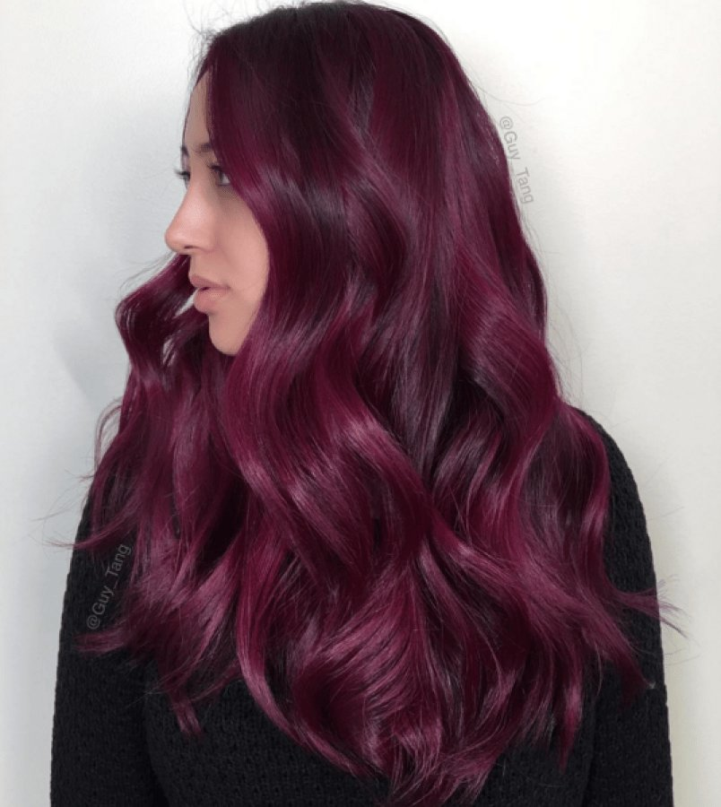 The Best Fall 2016 Colour Trend Merlot Locks Pictures