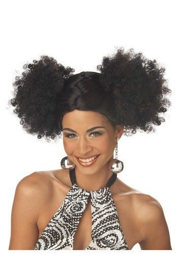The Best Black Disco Puffs Wig Pictures