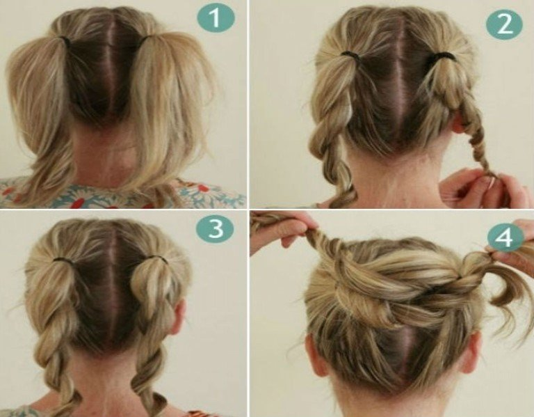 The Best Bun Hairstyles With Pictures Within 5 Steps Pictures