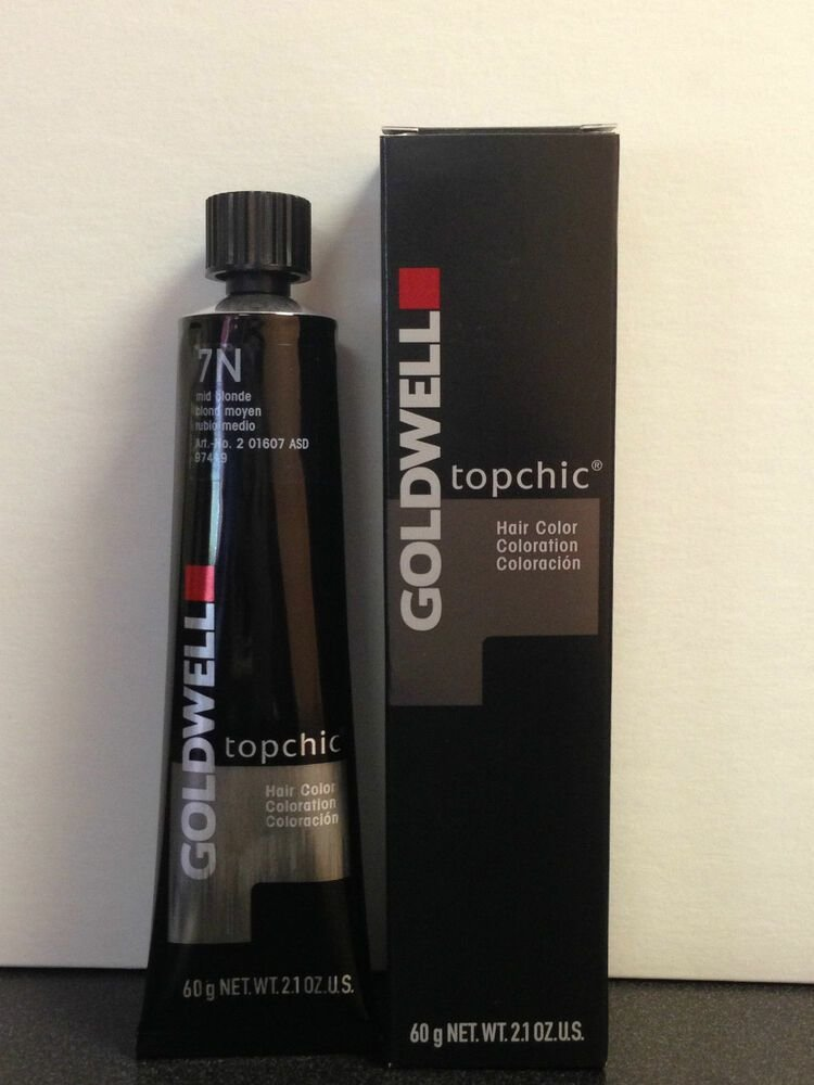 The Best Goldwell Topchic Hair Color 2 1Oz Tube Level 10 Thru 11 Pictures
