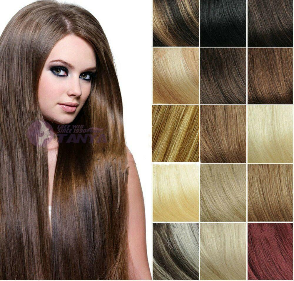 The Best Cheap 5Pcs 40G 100 Remy Human Hair Clip On In Extensions Pictures