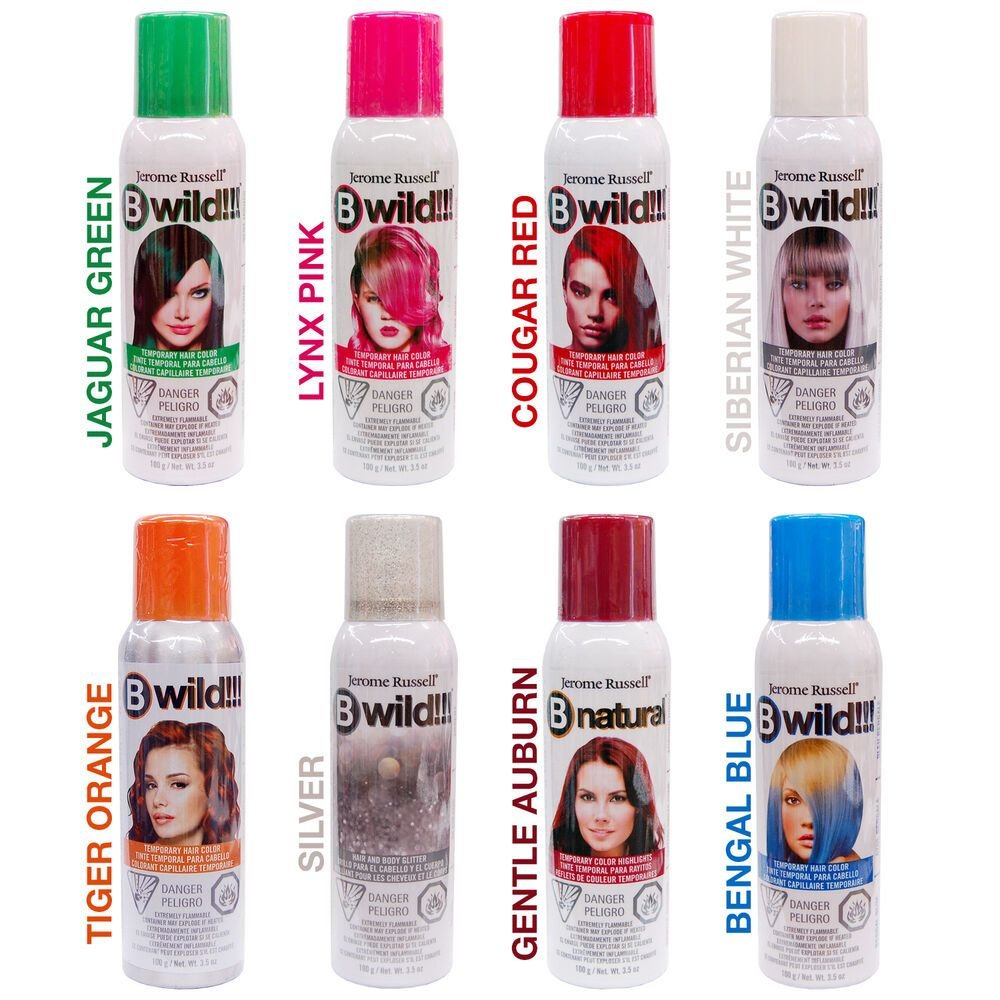 The Best Jerome Russell Bwild Temporary Hair Color Spray Choose Pictures