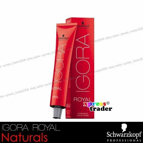 The Best Schwarzkopf Permanent Igora Royal Color 60G Naturals Hair Pictures
