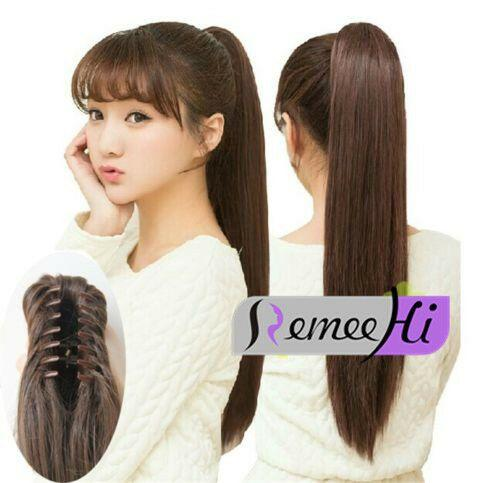 The Best Claw Jaw Clip Ponytail On One Hair Piece 100 Human Remy Pictures