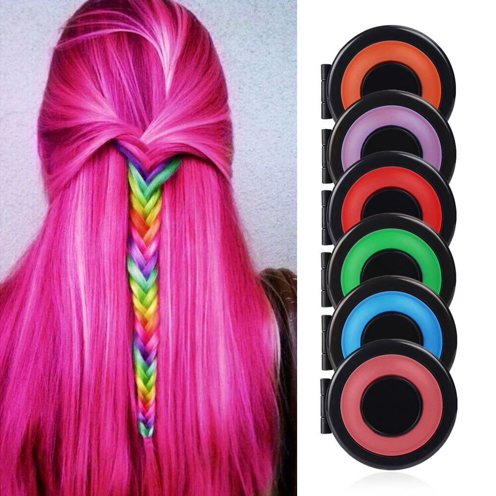 The Best 6 Pcs Diy Temporary Hair Chalk Special Color Dye Pastels Pictures