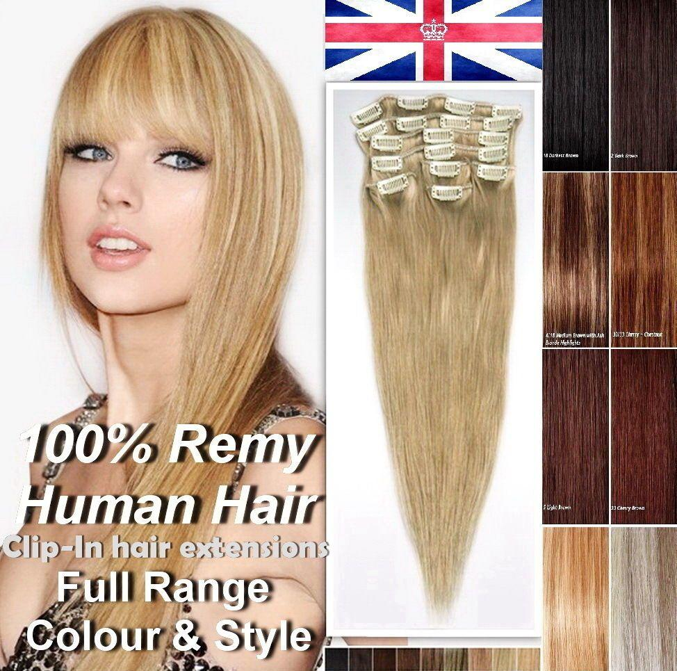 The Best 8 Pics Premium Clip In Human Hair Extensions Remy 100 Pictures