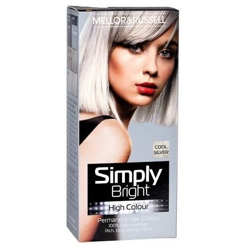 The Best Silver Hair Dye Simply Bright Colour Permanent 100 Grey Pictures