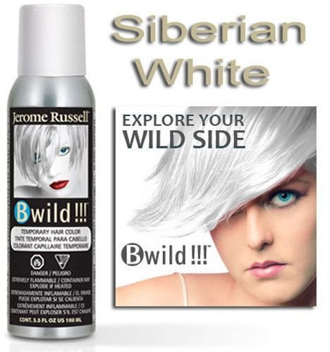 The Best Jerome Russell B Wild Color Spray Siberian White 3 5Oz Ebay Pictures