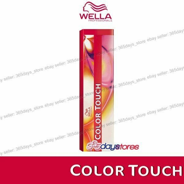 The Best Wella Color Touch Semi Permanent Hair Dye 60Ml Ebay Pictures