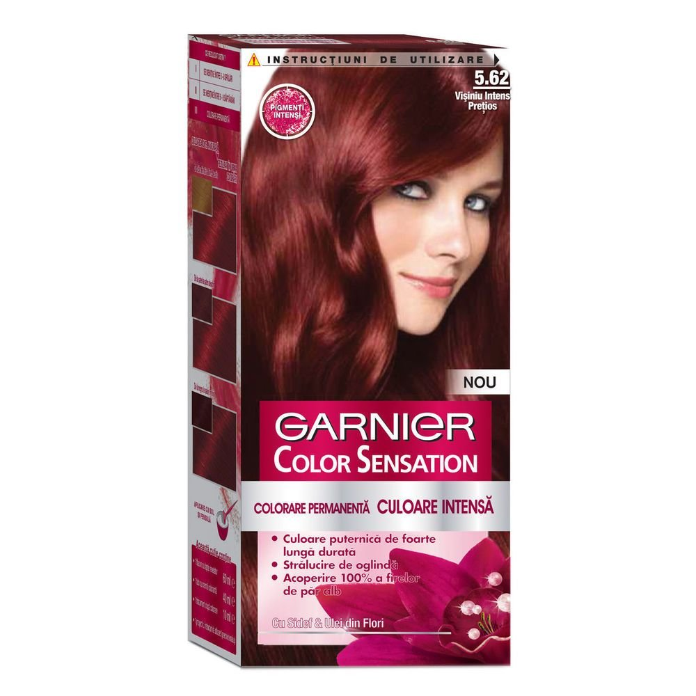 The Best Garnier Color Sensation 5 62 Intense Garnet Red Hair Dye Pictures