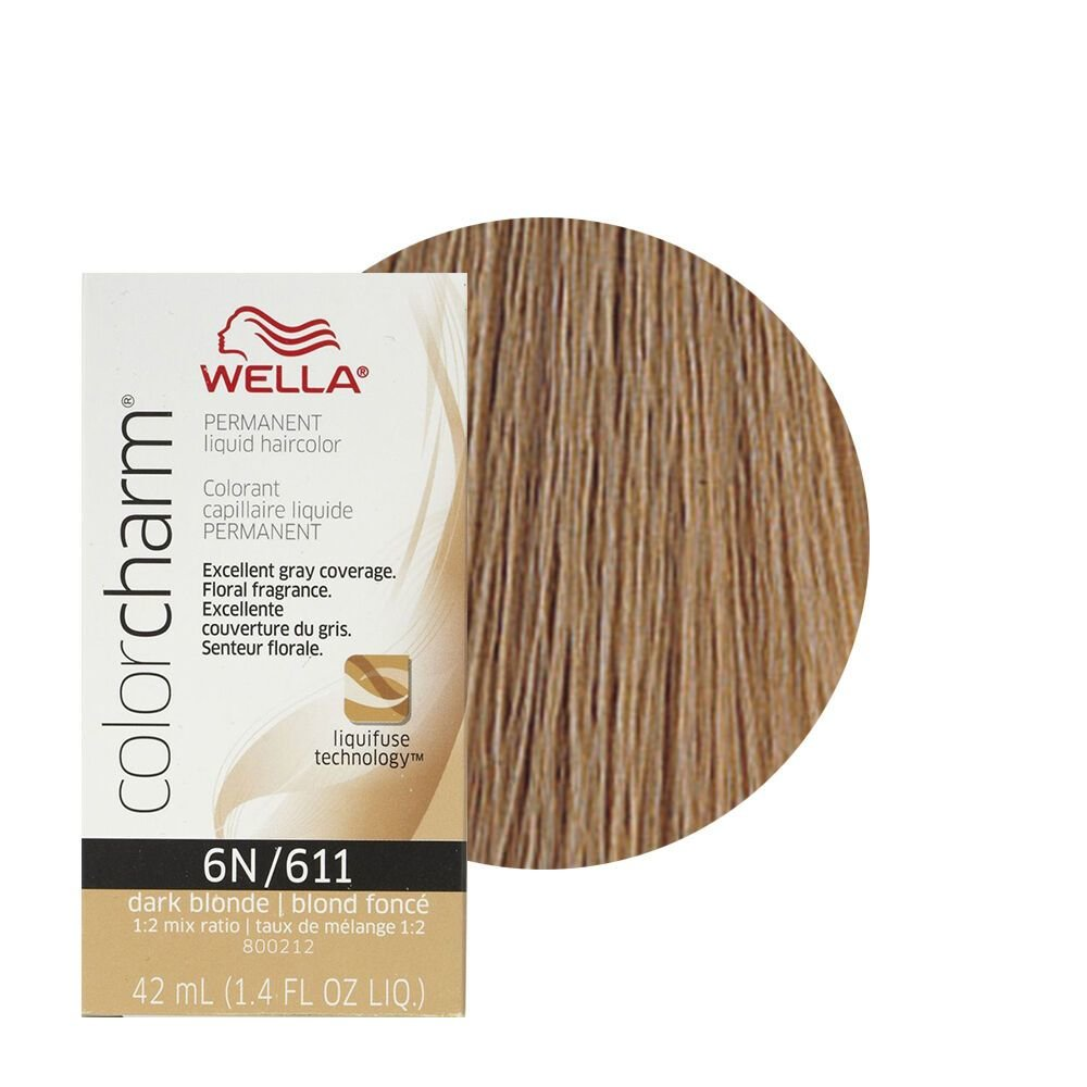 The Best Wella Color Charm Permament Liquid Hair Color 42Ml Dark Pictures