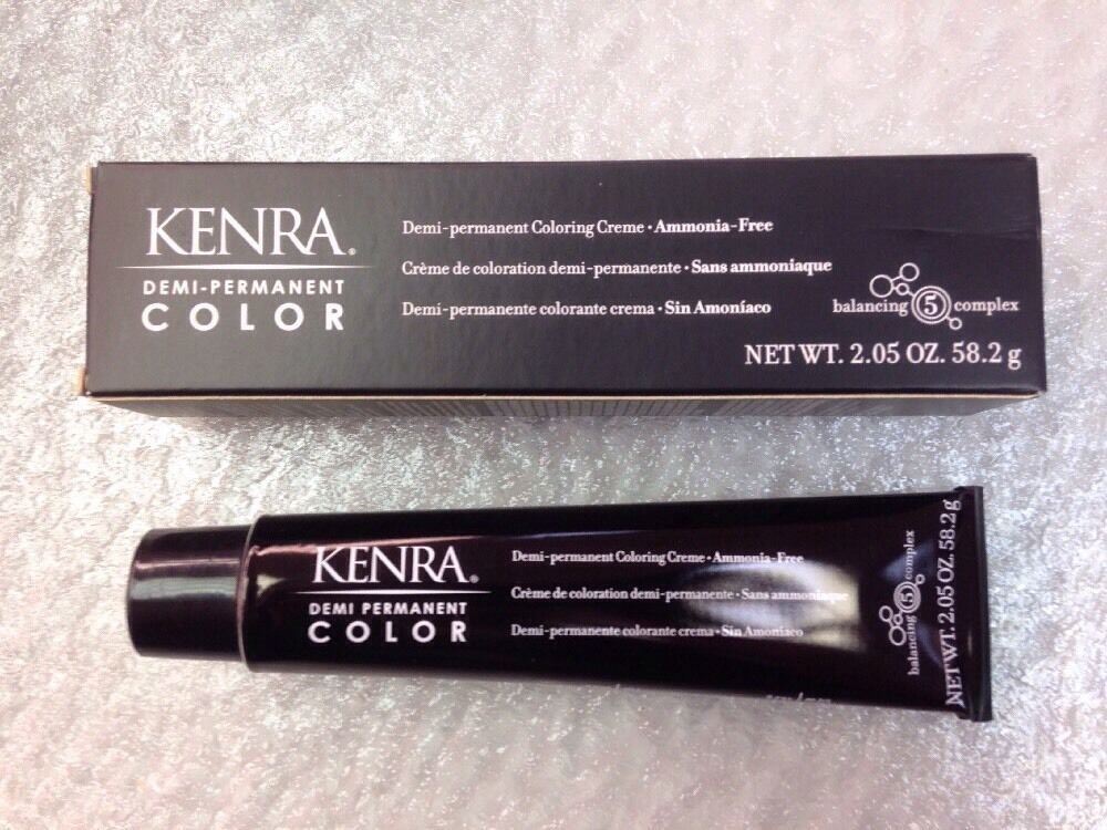 The Best Kenra Demi Permanent Ammonia Free Hair Color 2 05 Oz 4A Pictures