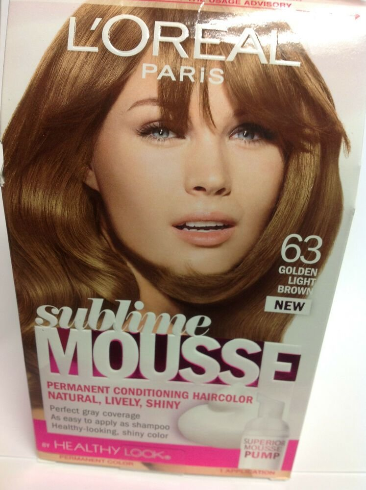 The Best L Oreal Sublime Mousse By Healthy Look Hair Color Golden Pictures