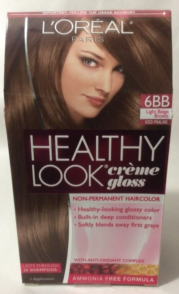 The Best L Oreal Healthy Look Creme Gloss Hair Color Light Beige Pictures