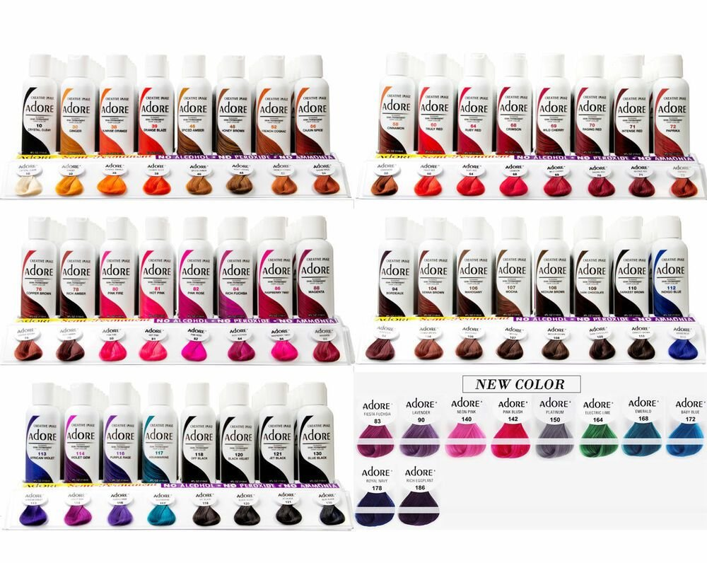 The Best Adore Semi Permanent Hair Colour Hair Colour Hair Dye Pictures