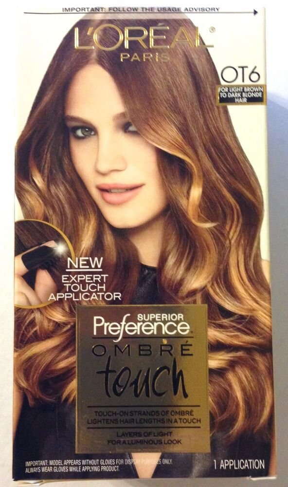 The Best L Oreal Feria Ombre Touch Hair Color Ot6 For Light Pictures