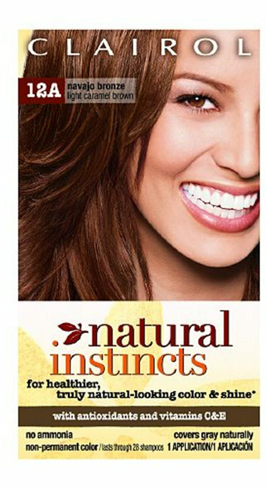 The Best Clairol 12A Navajo Bronze Light Caramel Brown Haircolor Ebay Pictures