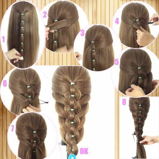 The Best Hairstyle Trick Using The Styling Loops Tool Makeup Mania Pictures