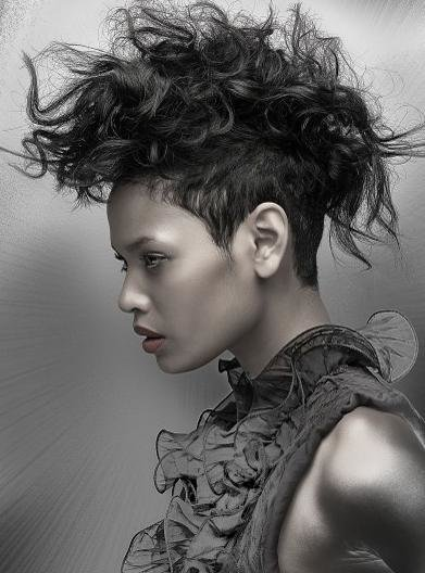 The Best Faux Hawk Curly Hairstyles Pictures