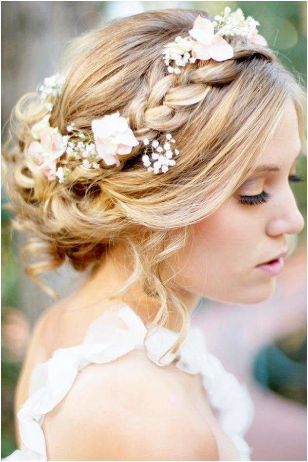 The Best A Romantic Bohemian Wedding Hairstyle Weddbook Pictures