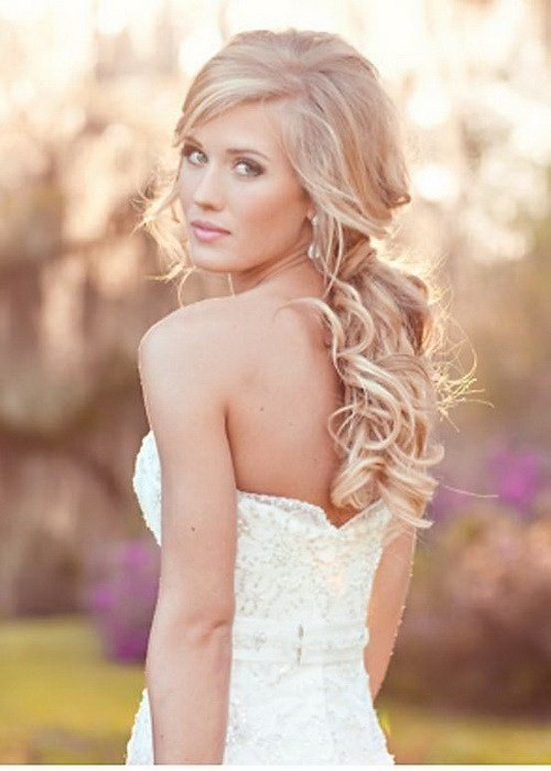The Best Top 20 Most Beautiful Wedding Hairstyles Yve Style Com Pictures