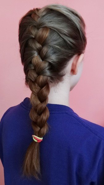 The Best French Braided Hairstyles Yve Style Com Pictures
