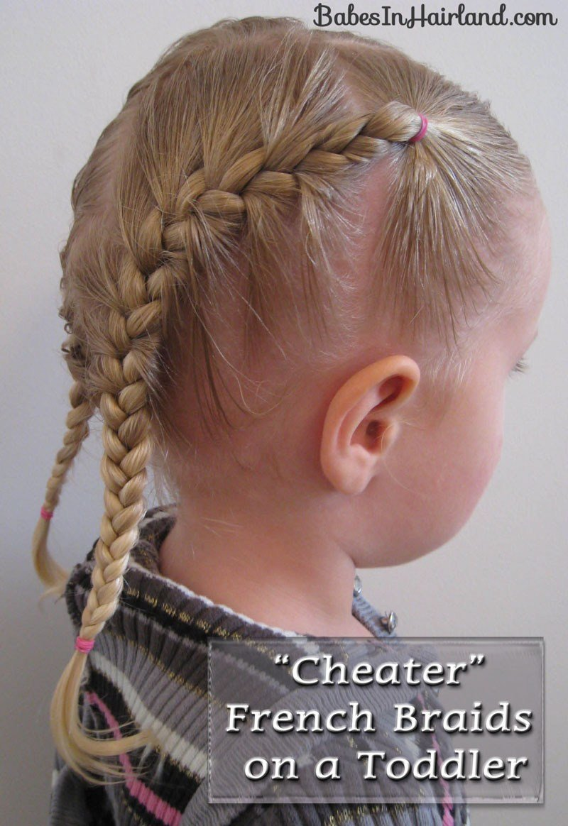 The Best Toddler French Braids B*B*S In Hairland Pictures