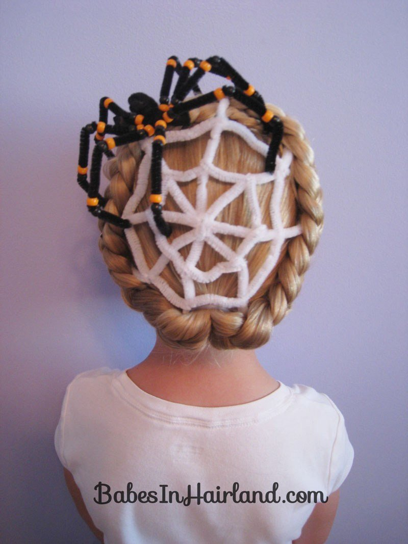 The Best Spiderweb Hairstyle For Halloween B*B*S In Hairland Pictures